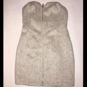 Urban Outfitters Snow Leopard Mini Dress